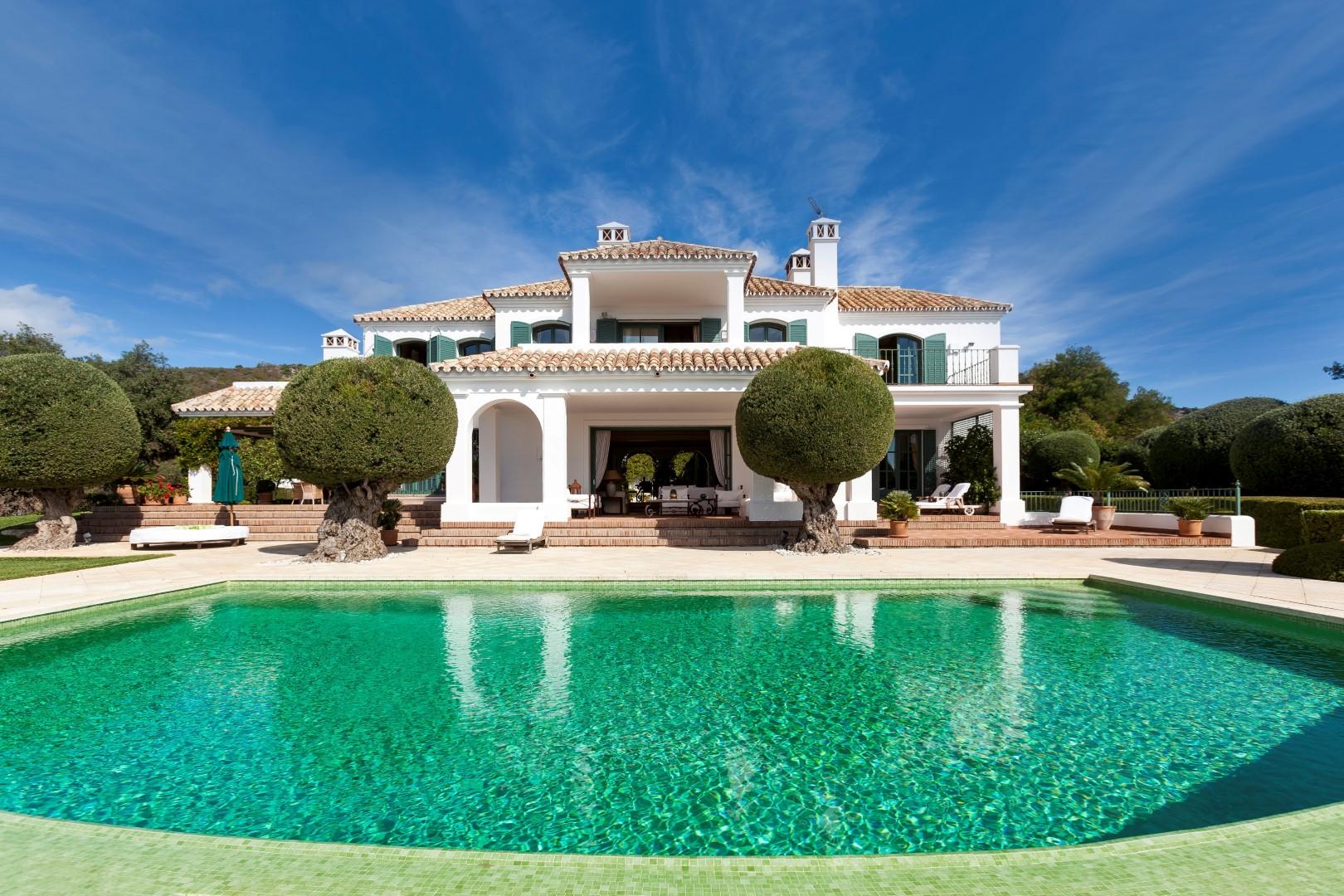 Una villa excepcional en el Marbella Club Golf Resort