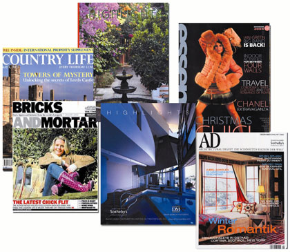 DM Properties and the exclusive magazines