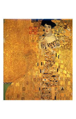 Portrait Of Adele Bloch-Bauer I Giclee Print por Gustav Klimt