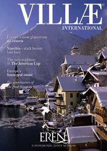 Villae International Magazine  Cover