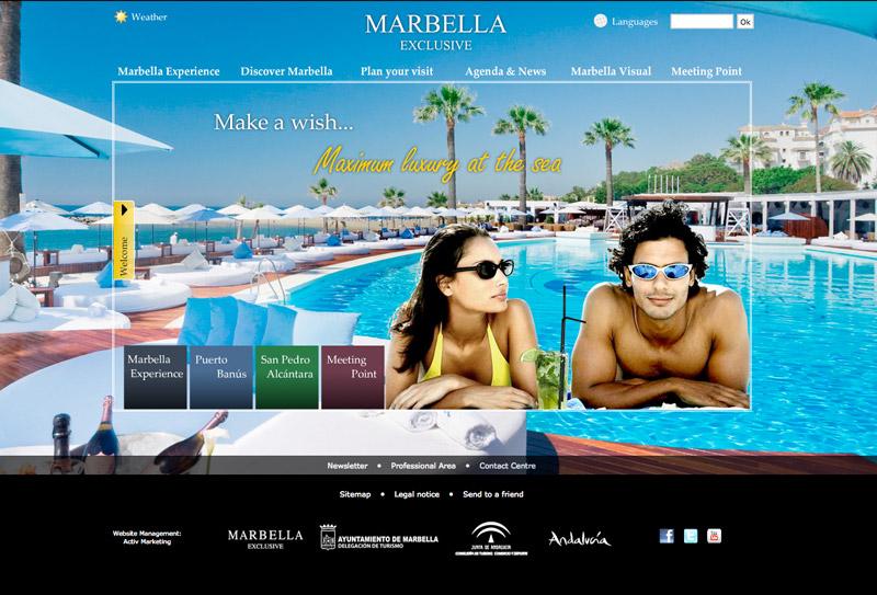 Marbella has a new touristic website
