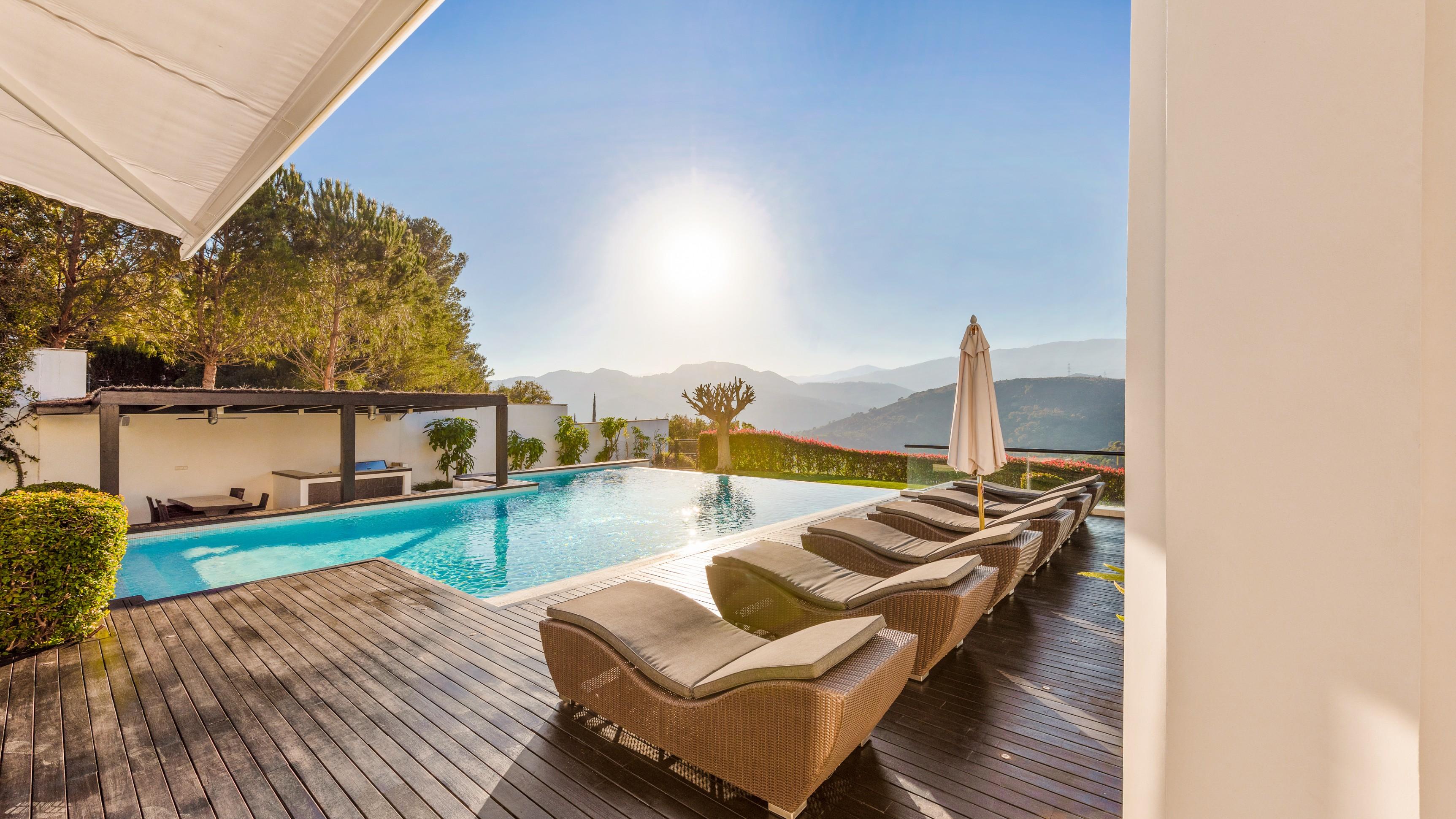 Villa La Zagaleta with a view