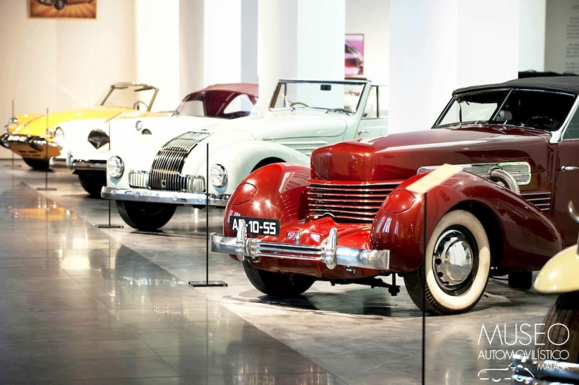 Málaga's car museum is a jewel in the crown