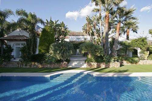 Una de las primeras casas de lujo en sierra blanca marbella - Casas de lujo en marbella ...
