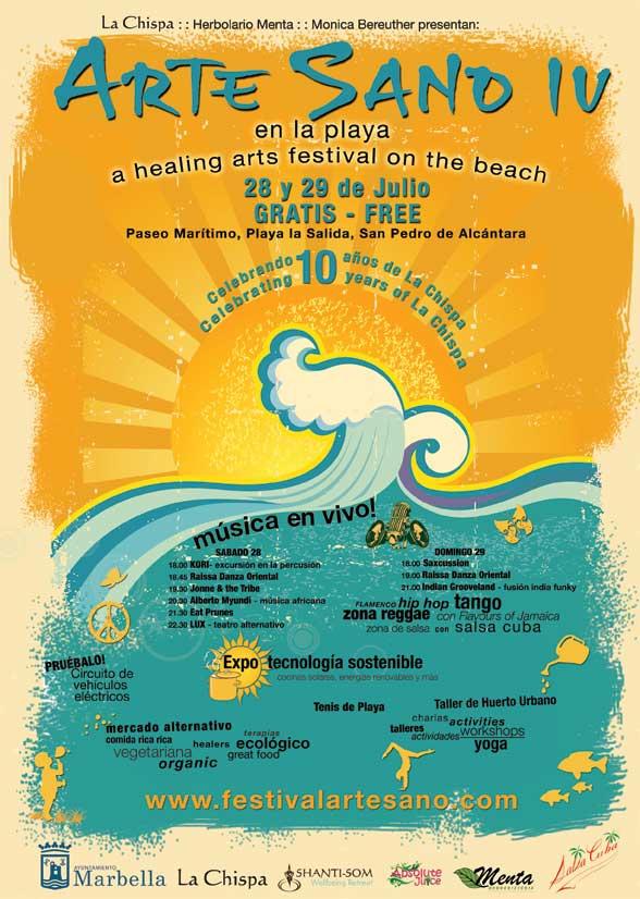 Iv festival arte sano en el paseo mar timo de san pedro - Diana morales inmobiliaria ...