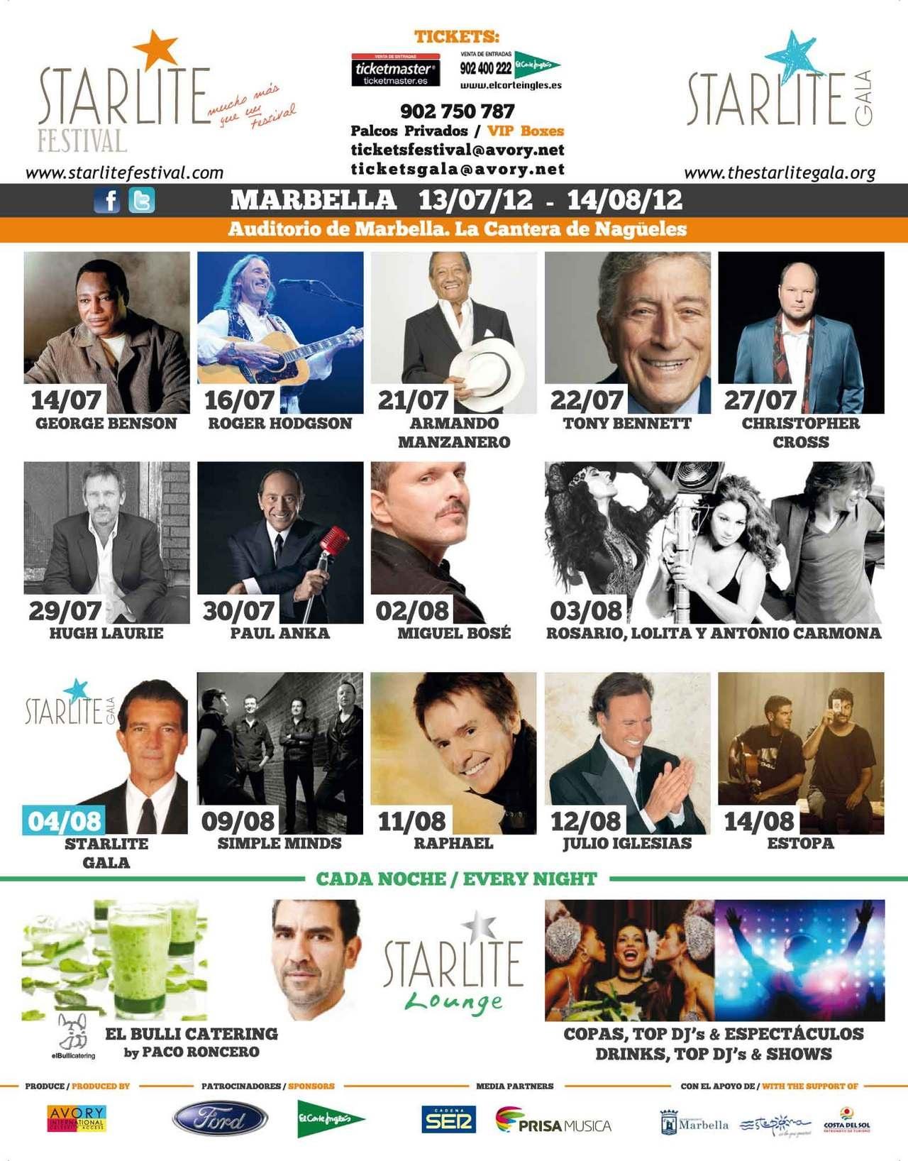 Starlite festival Marbella