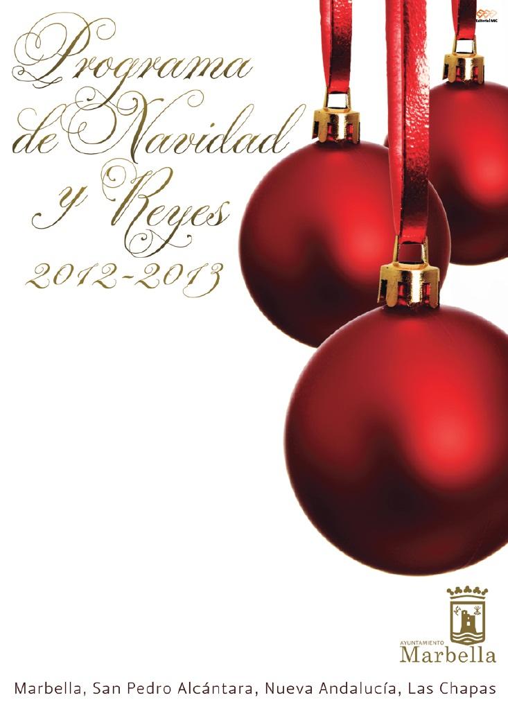 Programa Navidad Marbella