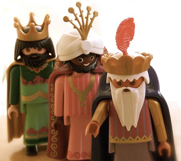 3 Reyes Magos Paymobil
