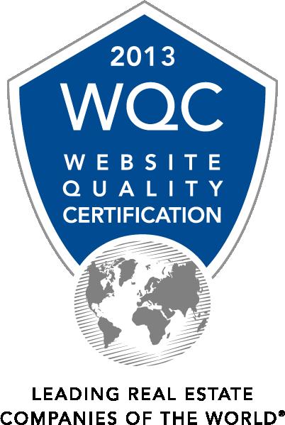 WQC Certificación de Calidad por su página Web 2013