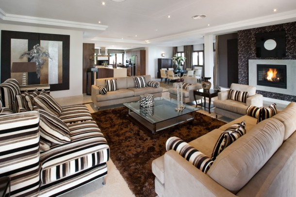 Living Room, Marbella Villa