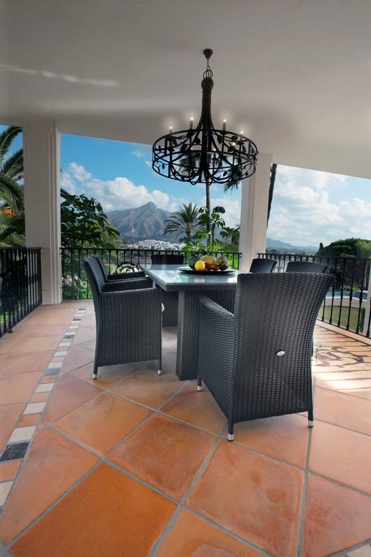 Terrace, Las Brisas Villa