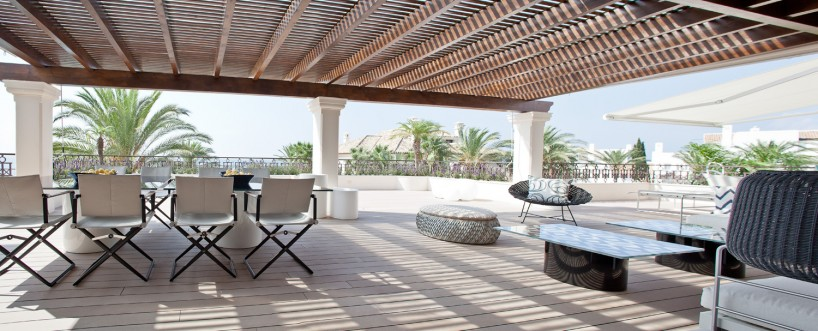 First Line Beach Duplex Penthouse in Marbella