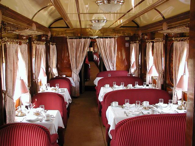 Al-Andalus Train Restaurant