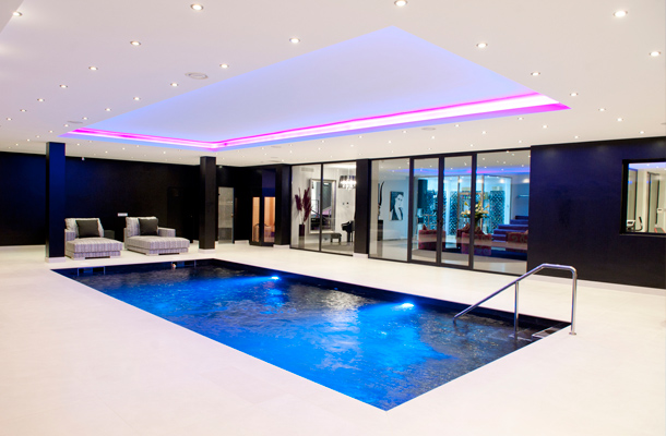 Marbella homes: your own spa