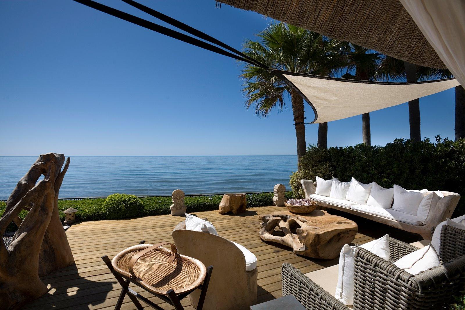 Villa con vistas al mar en Marbella