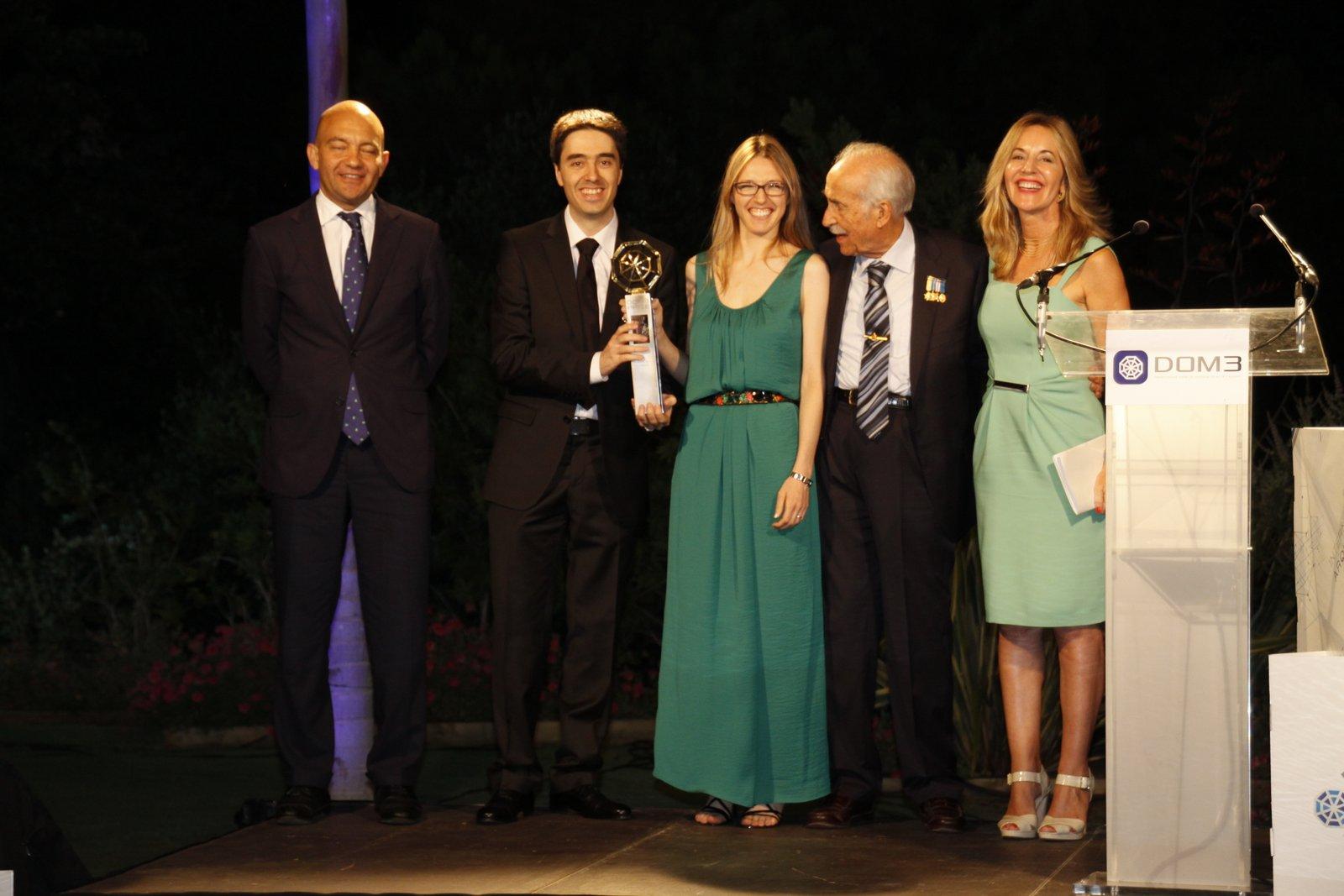 El proyecto 'Belvedere en La Zagaleta, ganador del premio de arquitectura DOM3