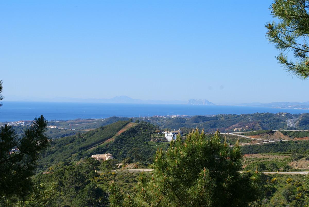 Vista desde una parcella, Marbella