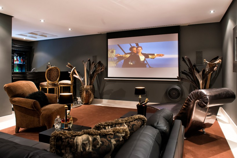 Home entertainment options in Marbella villas