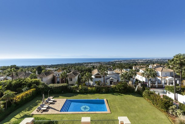 Luxury Villa Sierra Blanca Sea View Marbella