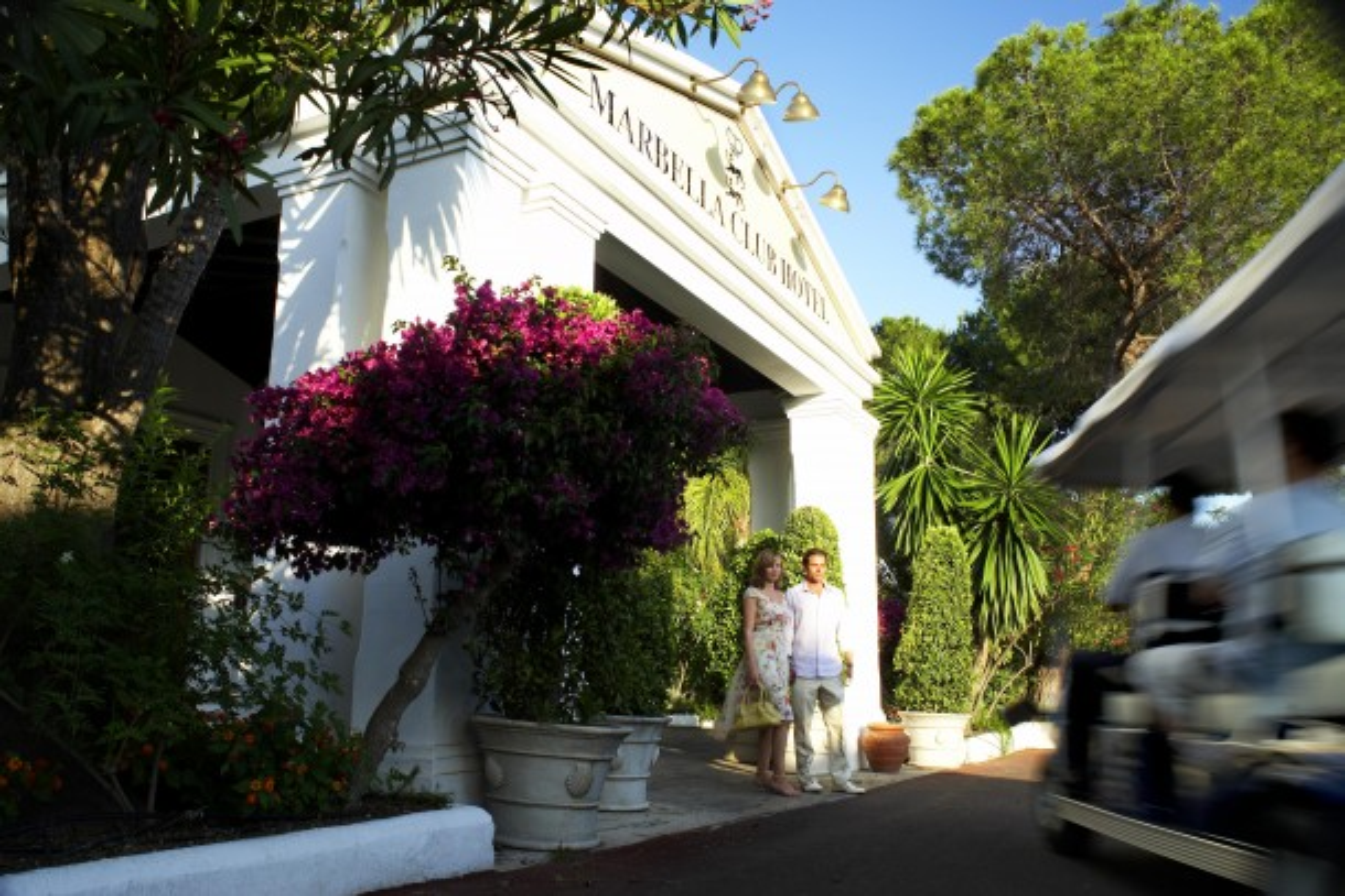 Marbella Club Hotel Entrance