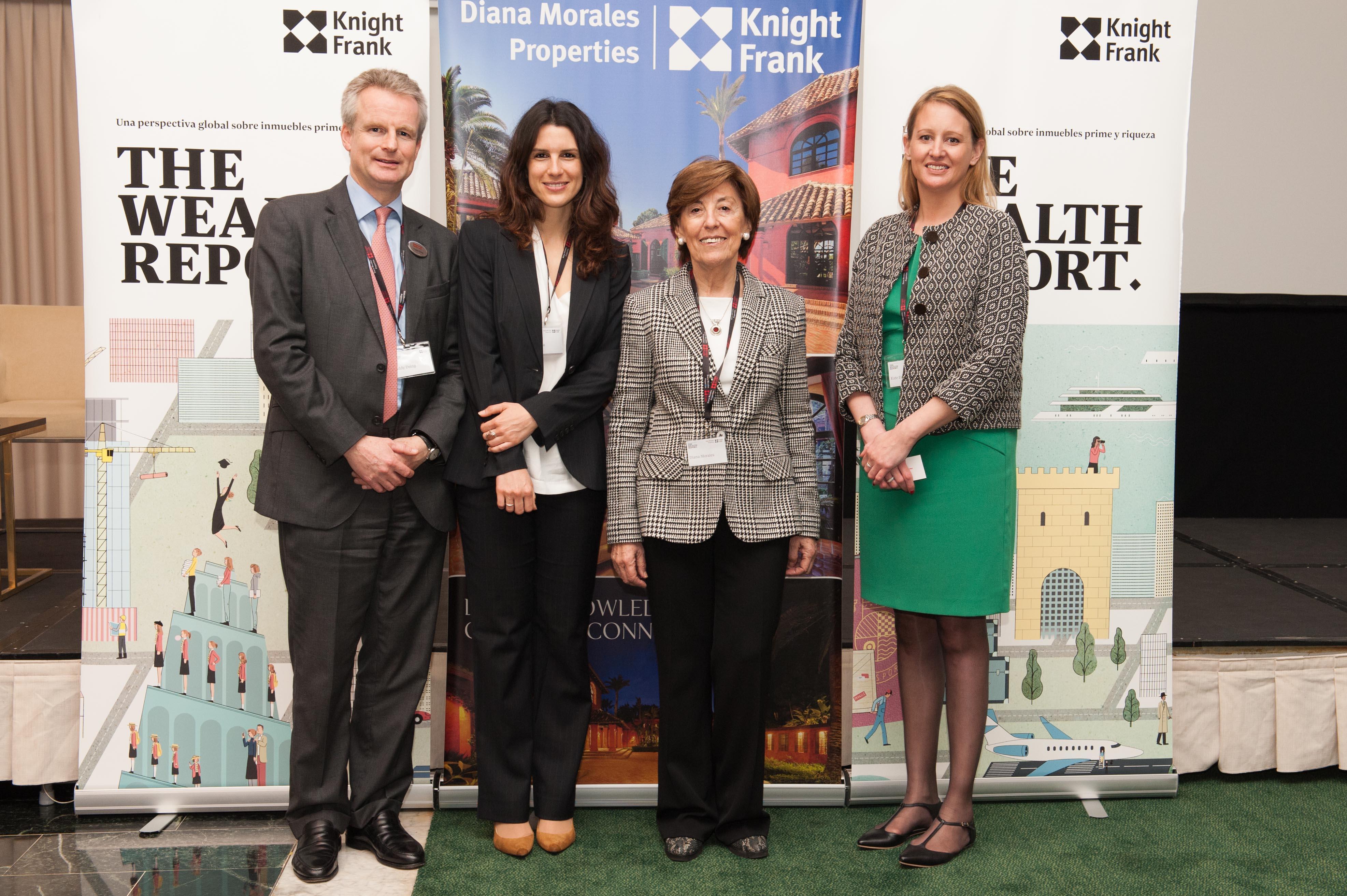 Knight Frank Wealth Report 2015 presented in Marbella