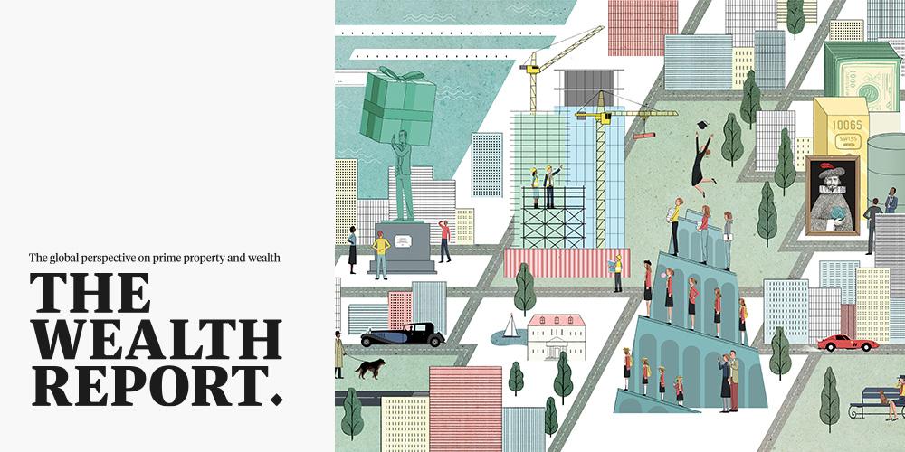 La consultora Knight Frank ha presentado en Marbella su informe The Wealth Report 2015