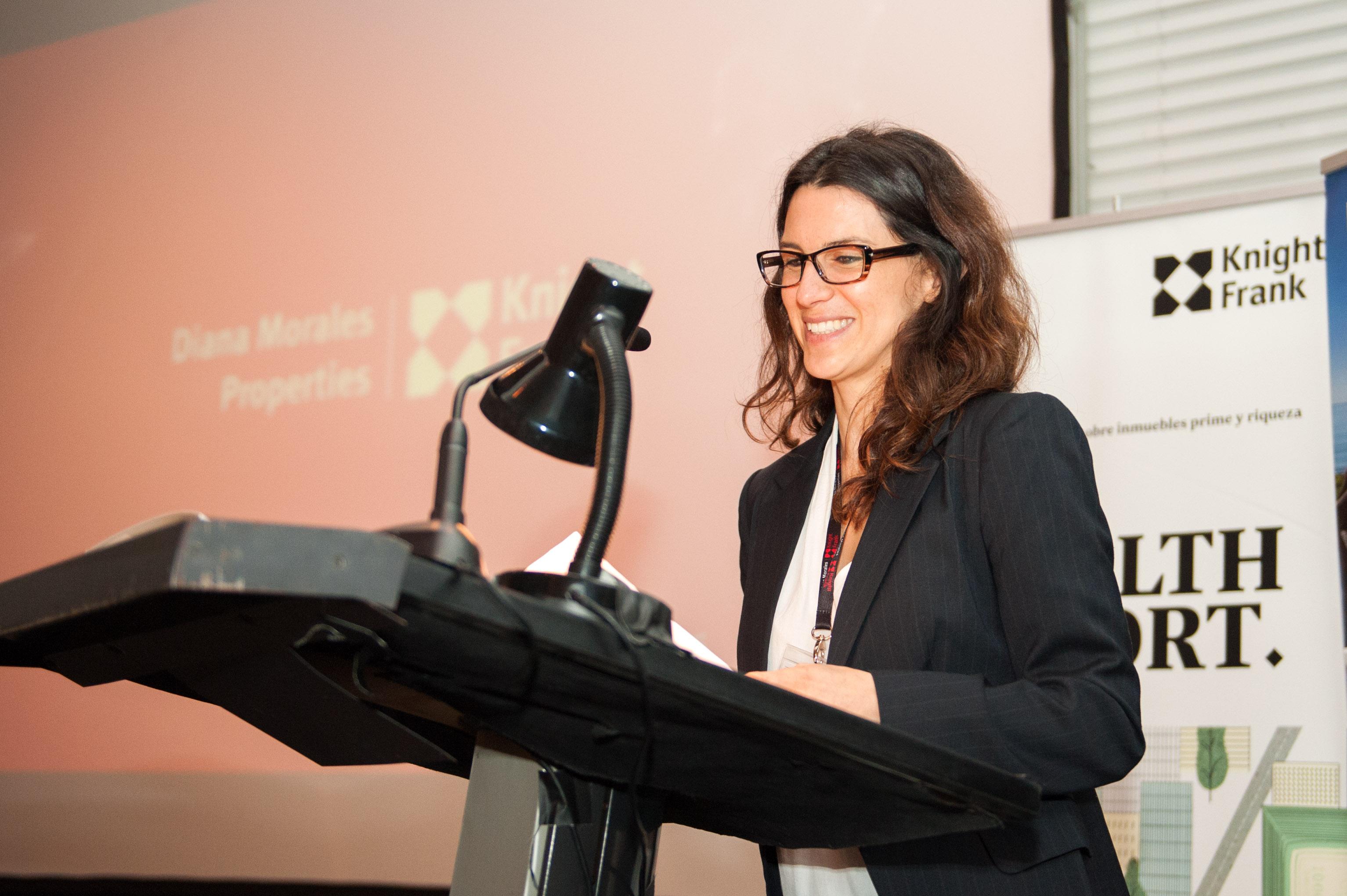 Pia Arrieta, presentación del Wealth Report 2015