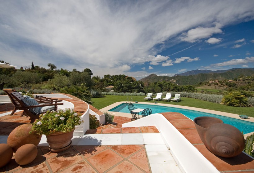 The embodiment of refined taste in a La Zagaleta villa