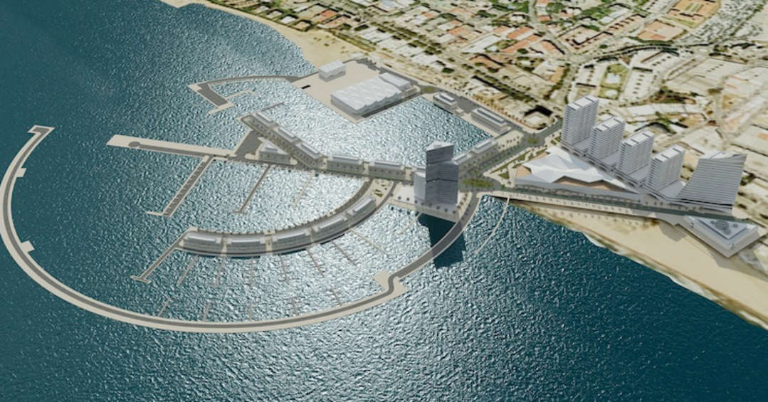 New harbour project in Marbella