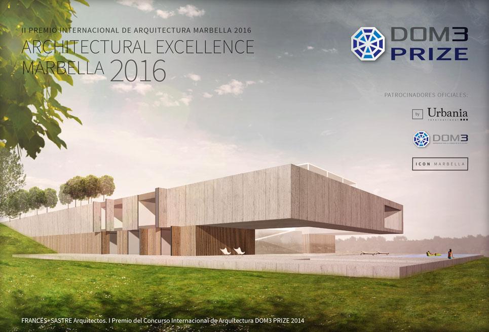 Marbella's DOM3 Architecture Award in its second edition