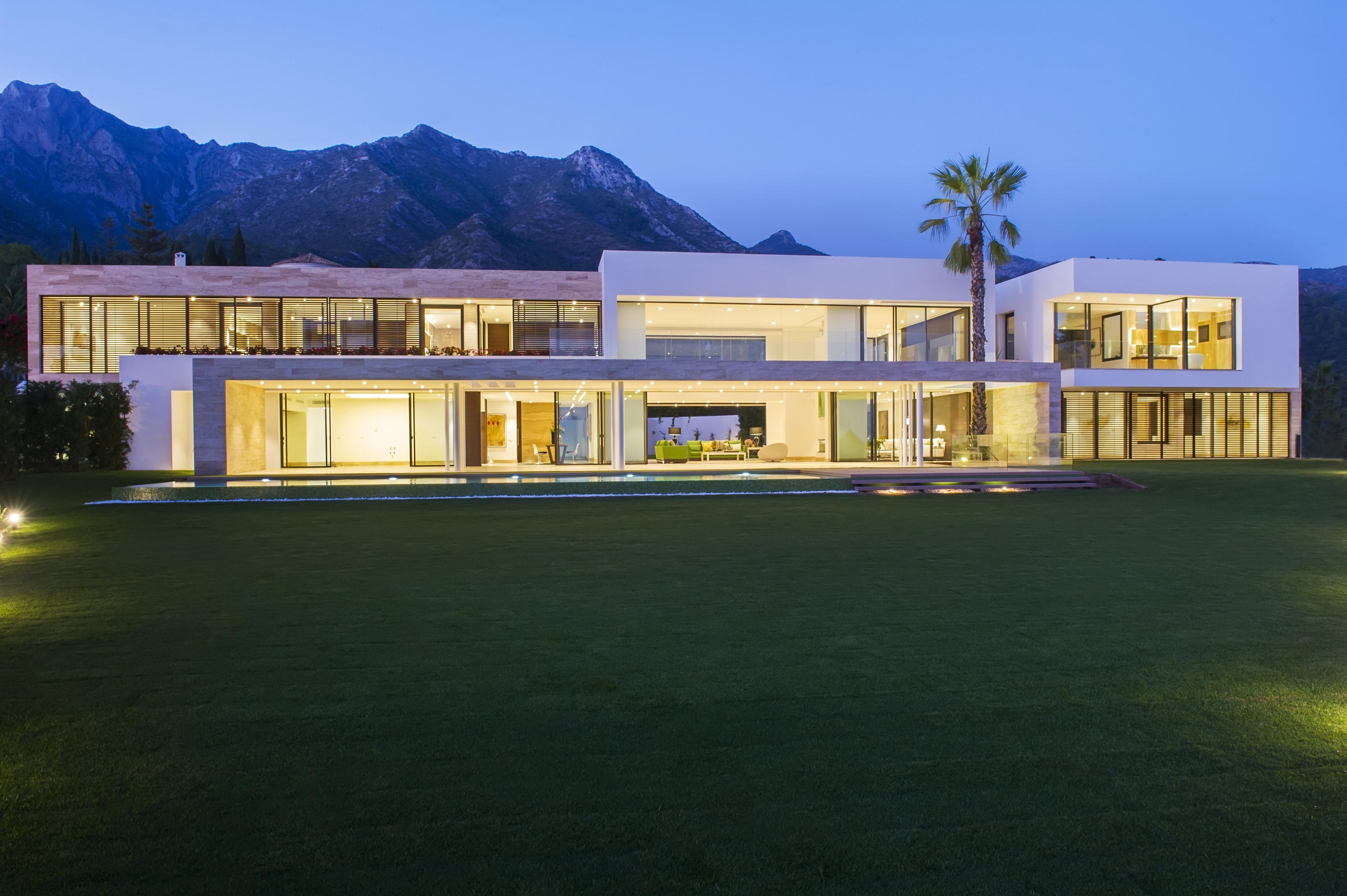 Casas de estilo contempor neo en marbella - Diana morales inmobiliaria ...