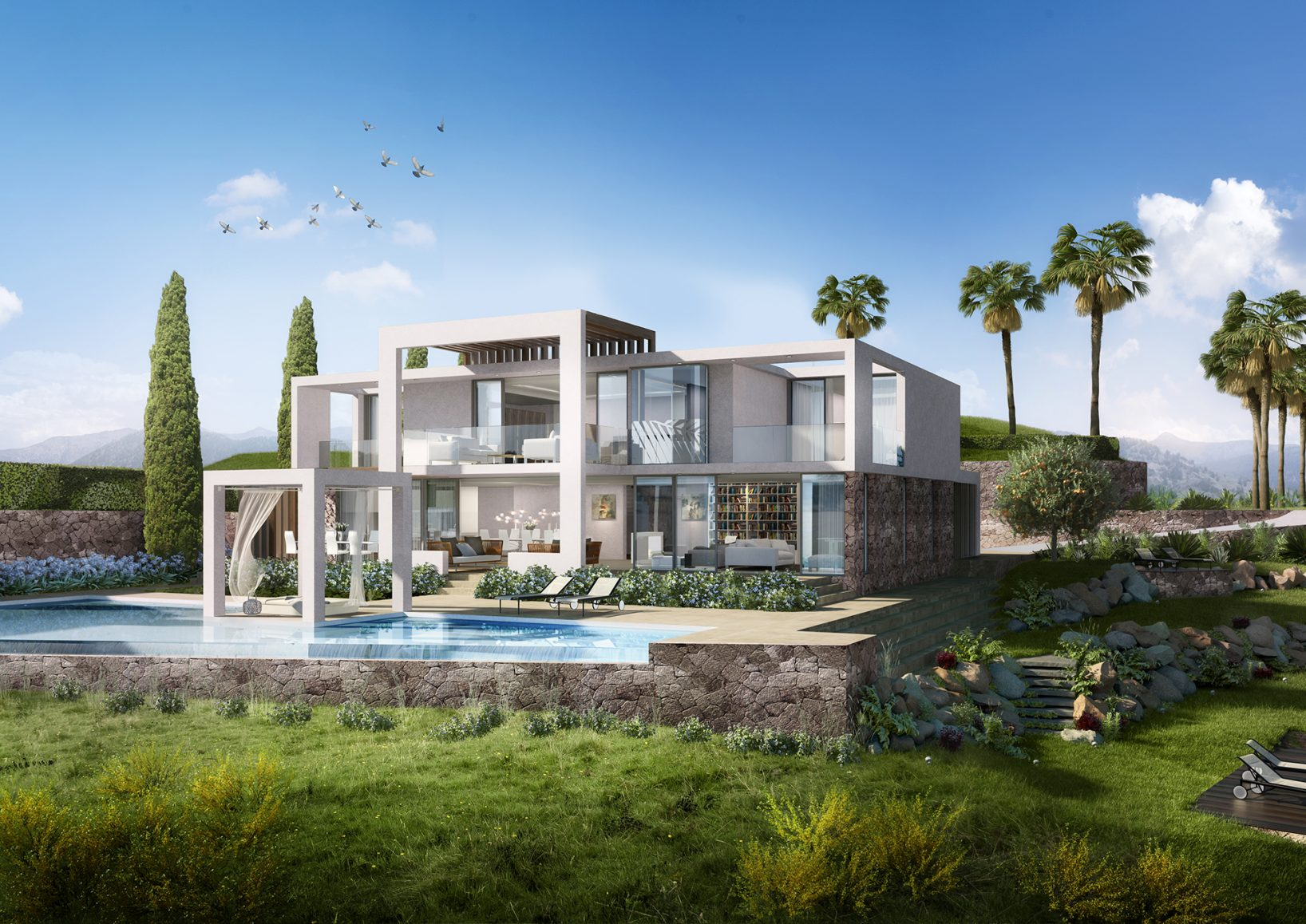 Stunning Modern Villas with Sea Views in Santa Clara