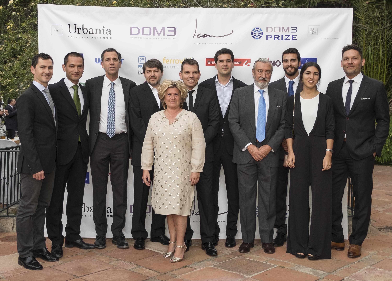 DM Properties felicita al ganador del concurso DOM3