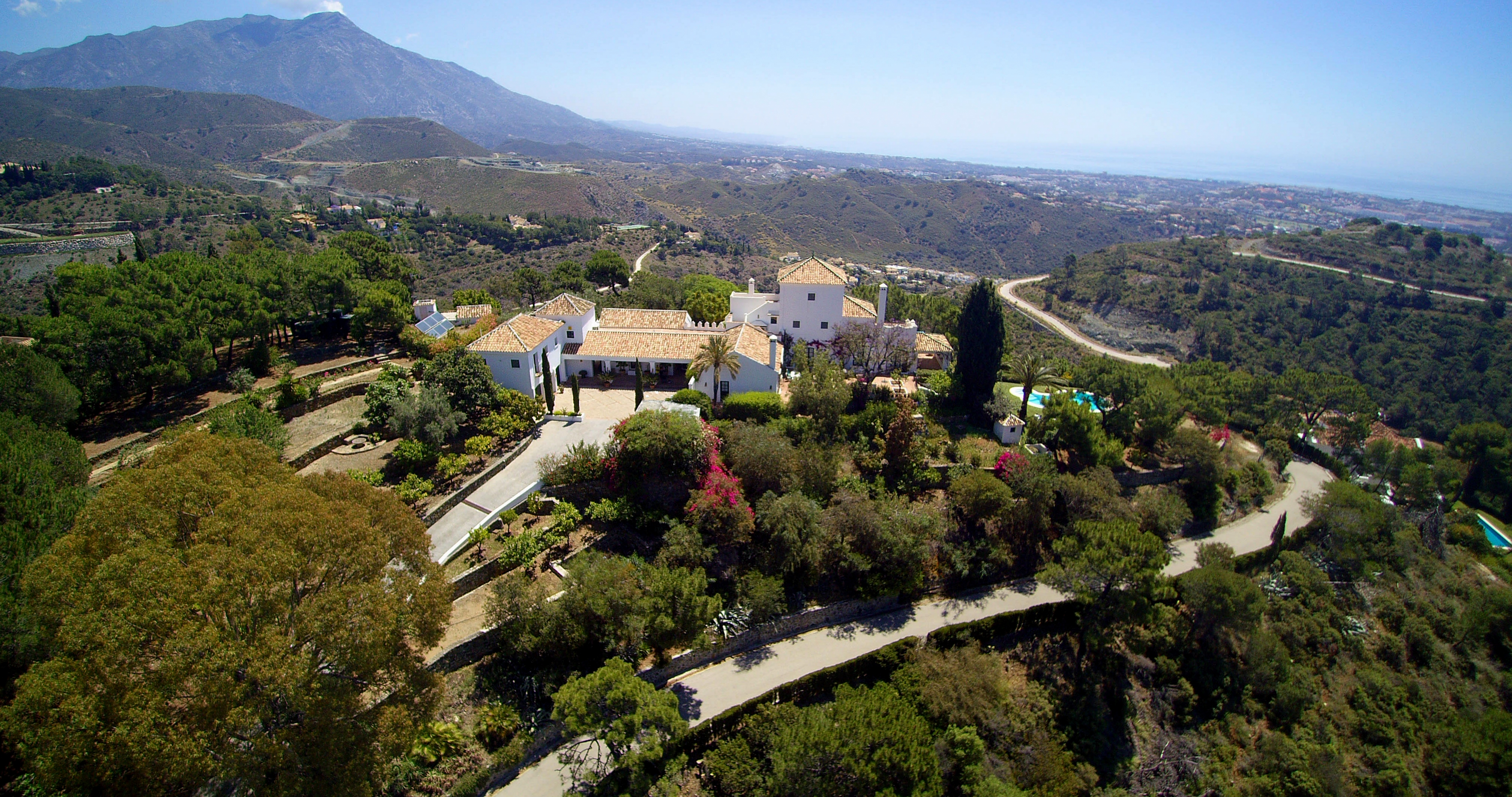 Country style villa with panoramic views in El Madroñal