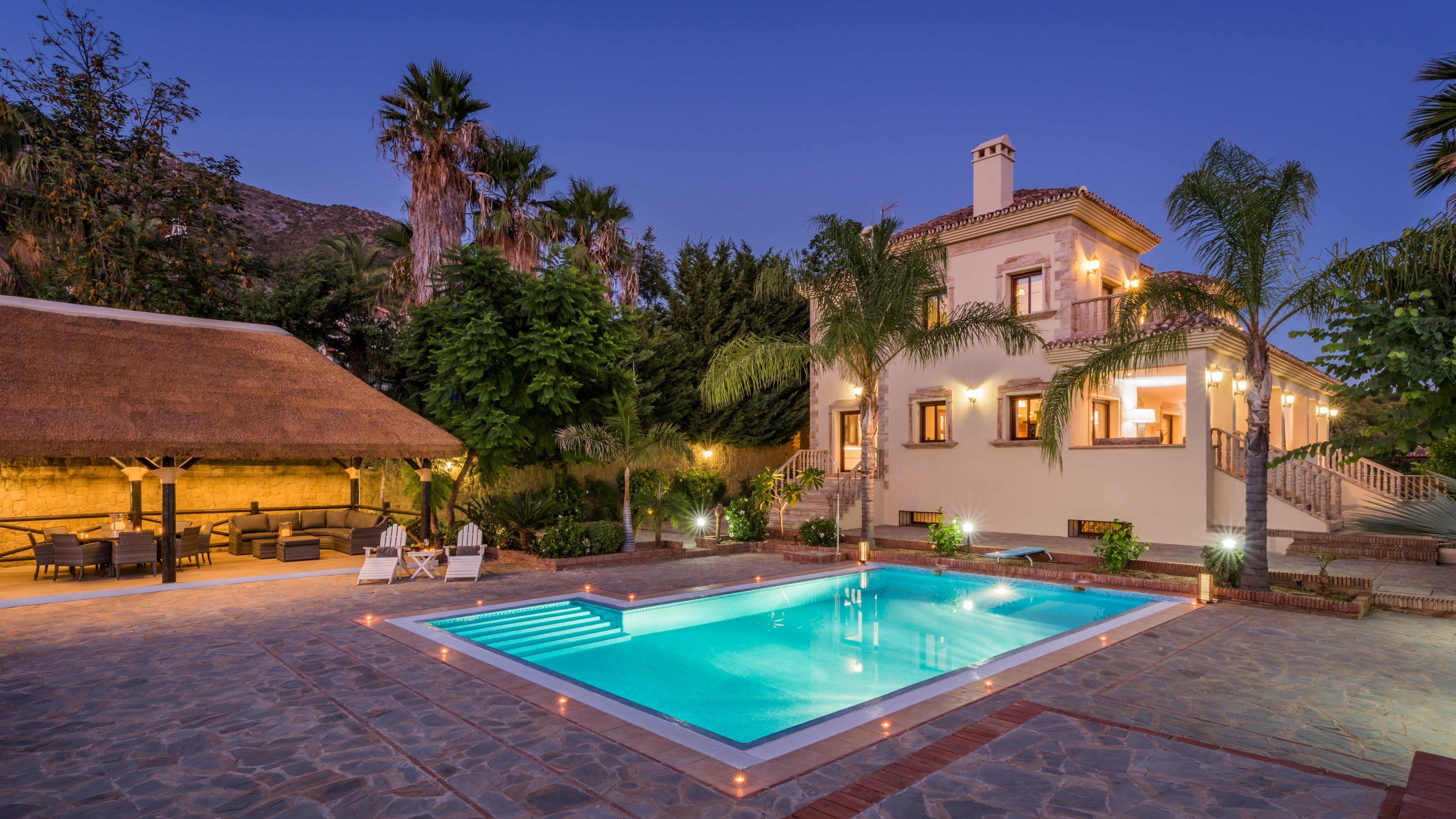 Stunning home in gated community next to Sierra Blanca