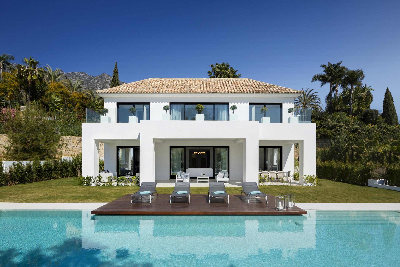 Villa contemporánea de lujo en Sierra Blanca, Marbella