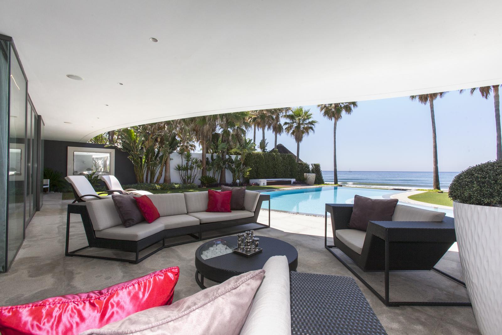 Los Monteros, Contemporary Beachfront Jewel
