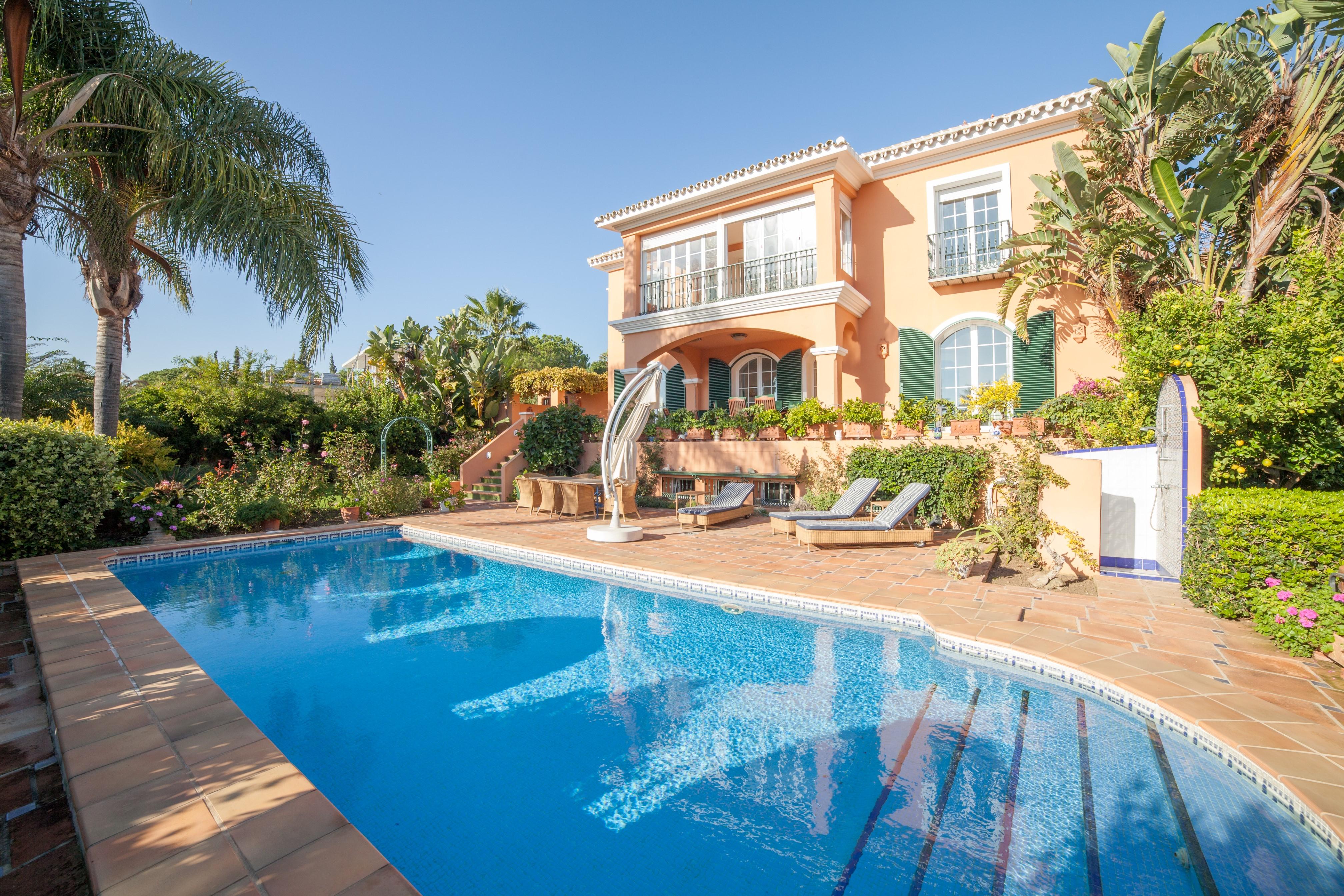 Luxury Mediterranean beachside villa in Carib Playa