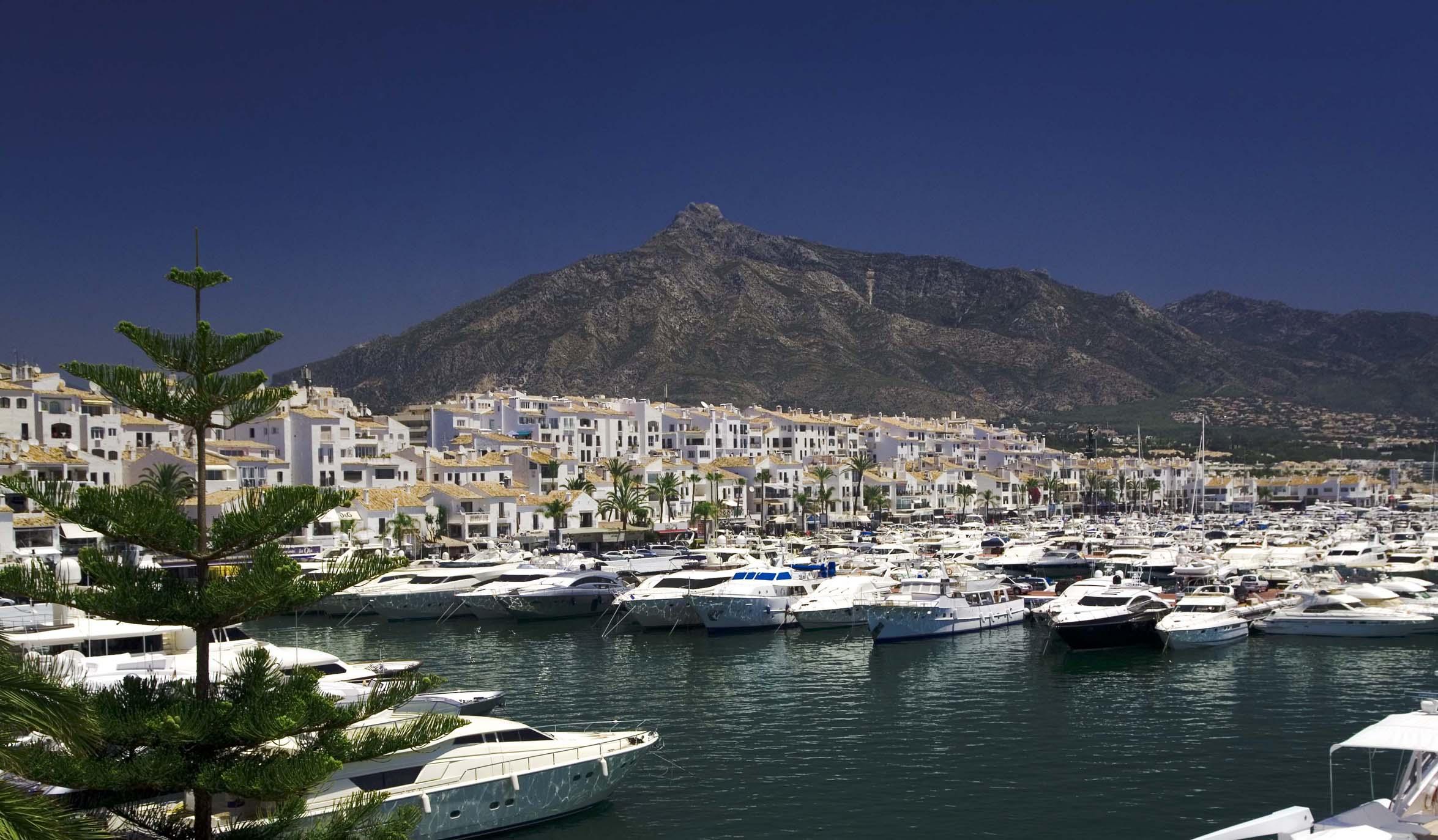 Vista de Puerto Banús, Marbella