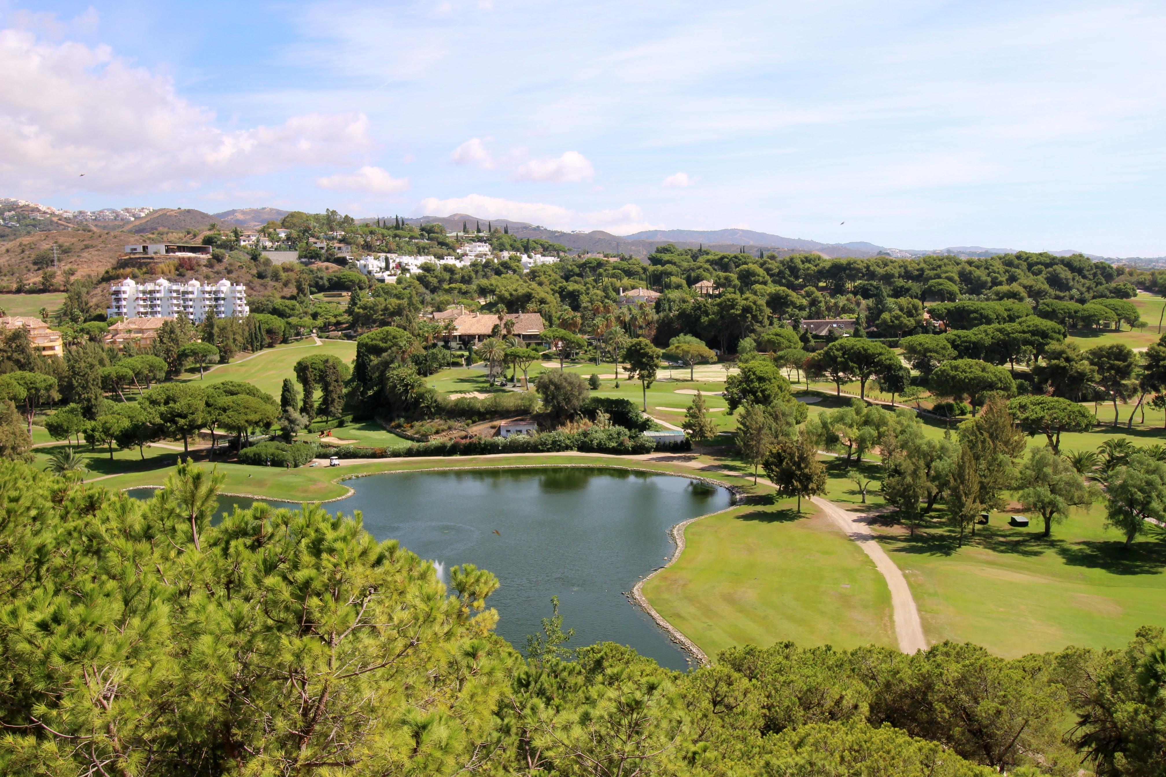 Campos de golf en Marbella Este