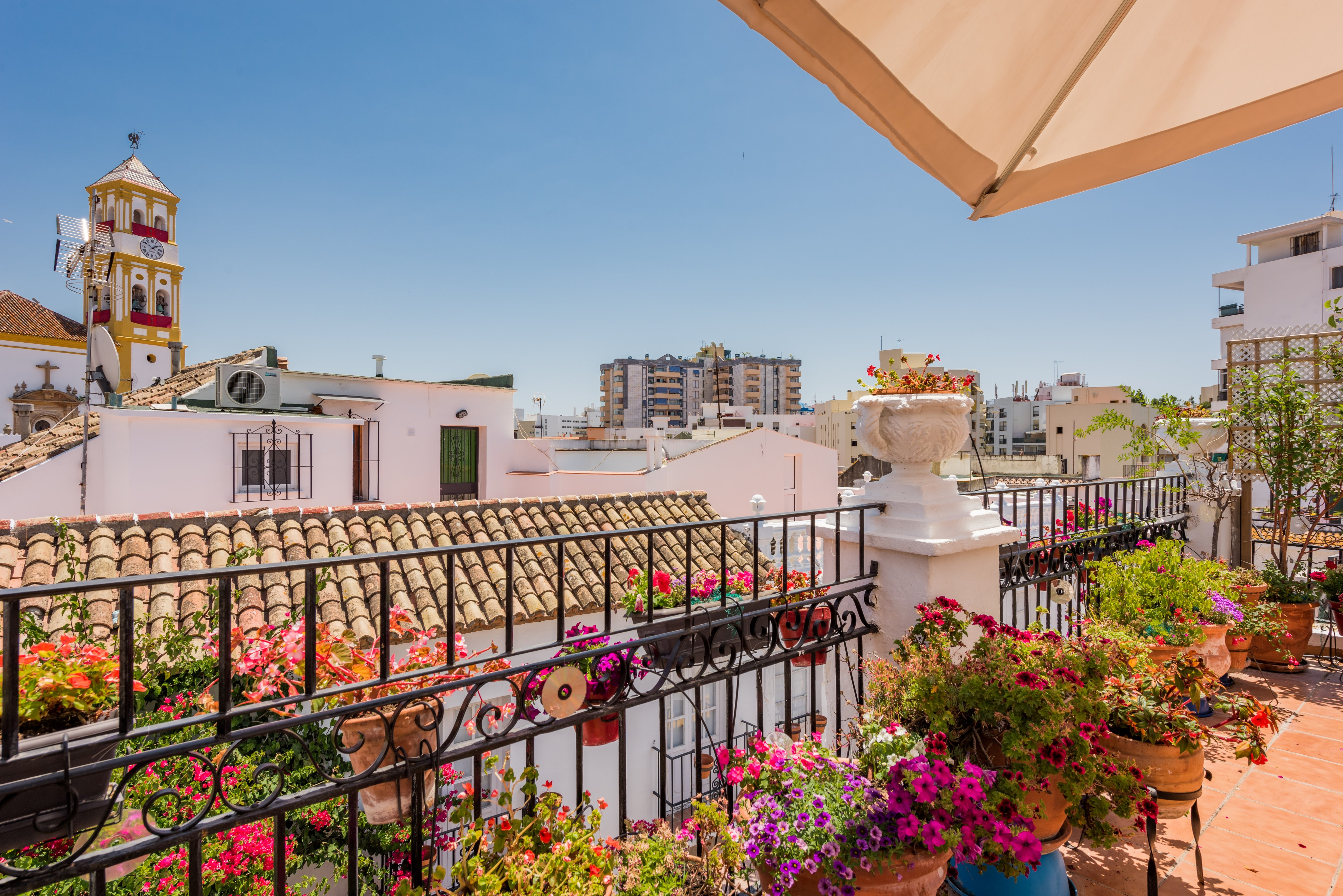 Duplex Penthouse in the Centre of Marbella's Old Town
