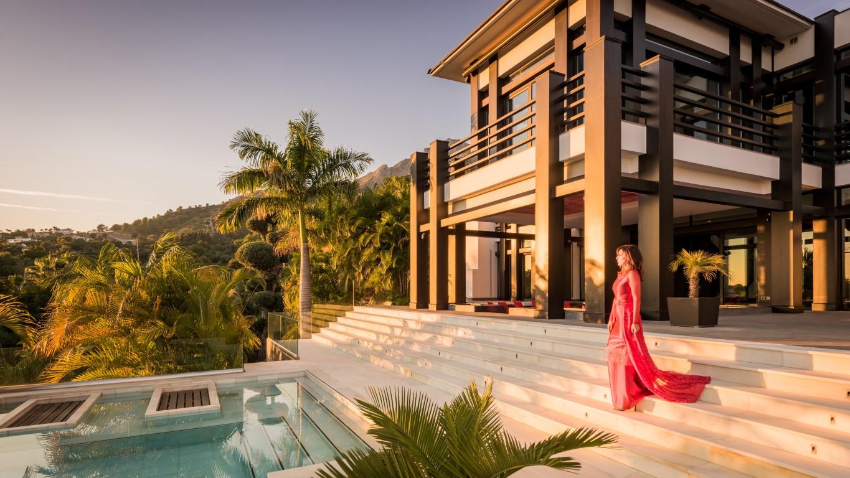 Casa de lujo con estilo