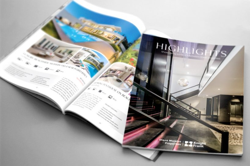 Nouvelle édition 2018 de highlights – le magazine immobilier de Marbella