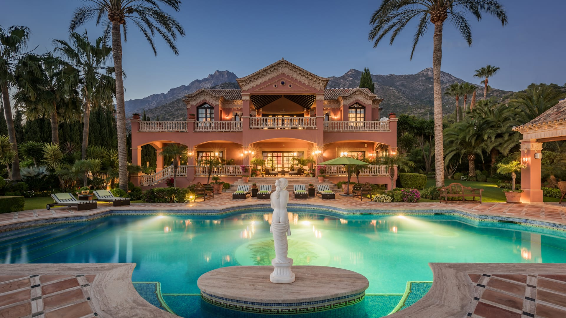 Excepcional mansión en Sierra Blanca