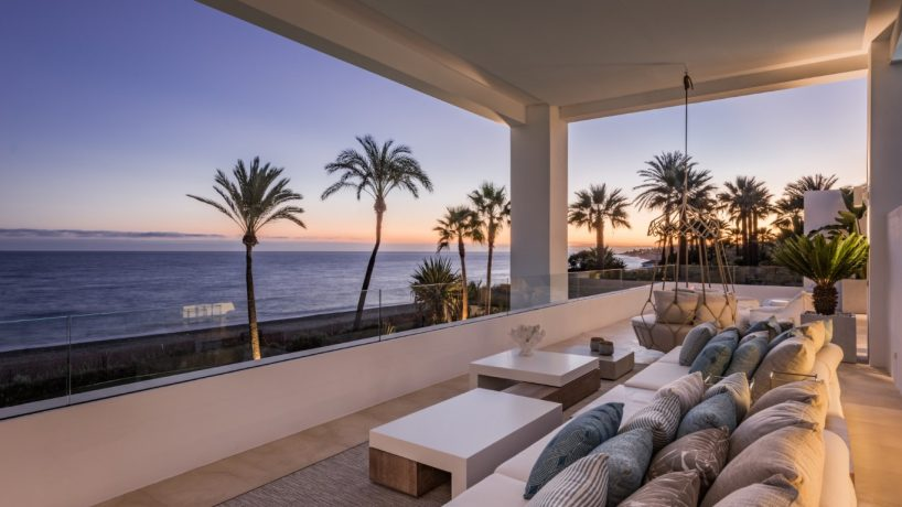 Living in Marbella property with terrace