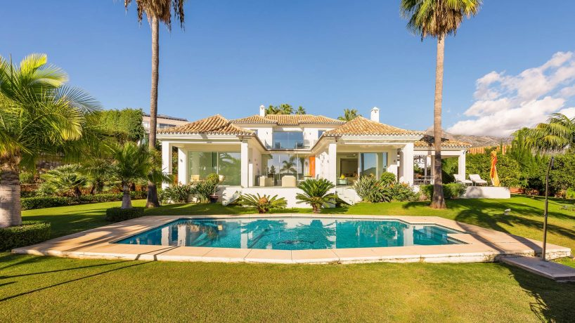 Las Brisas, villa in the heart of the golf valley