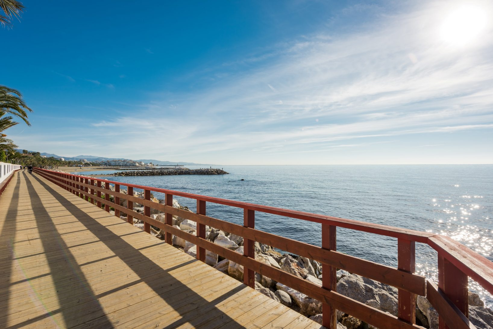 Malaga coastal path continues to expand