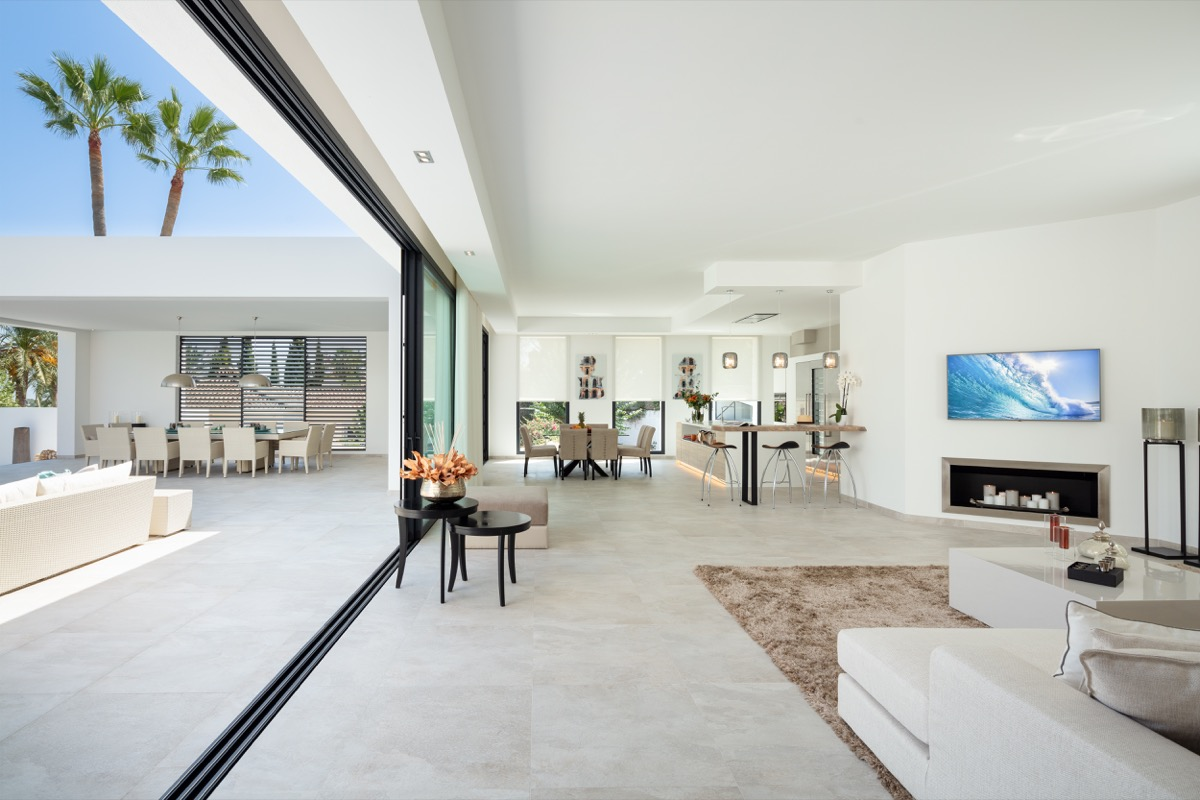 Open-plan living in Marbella