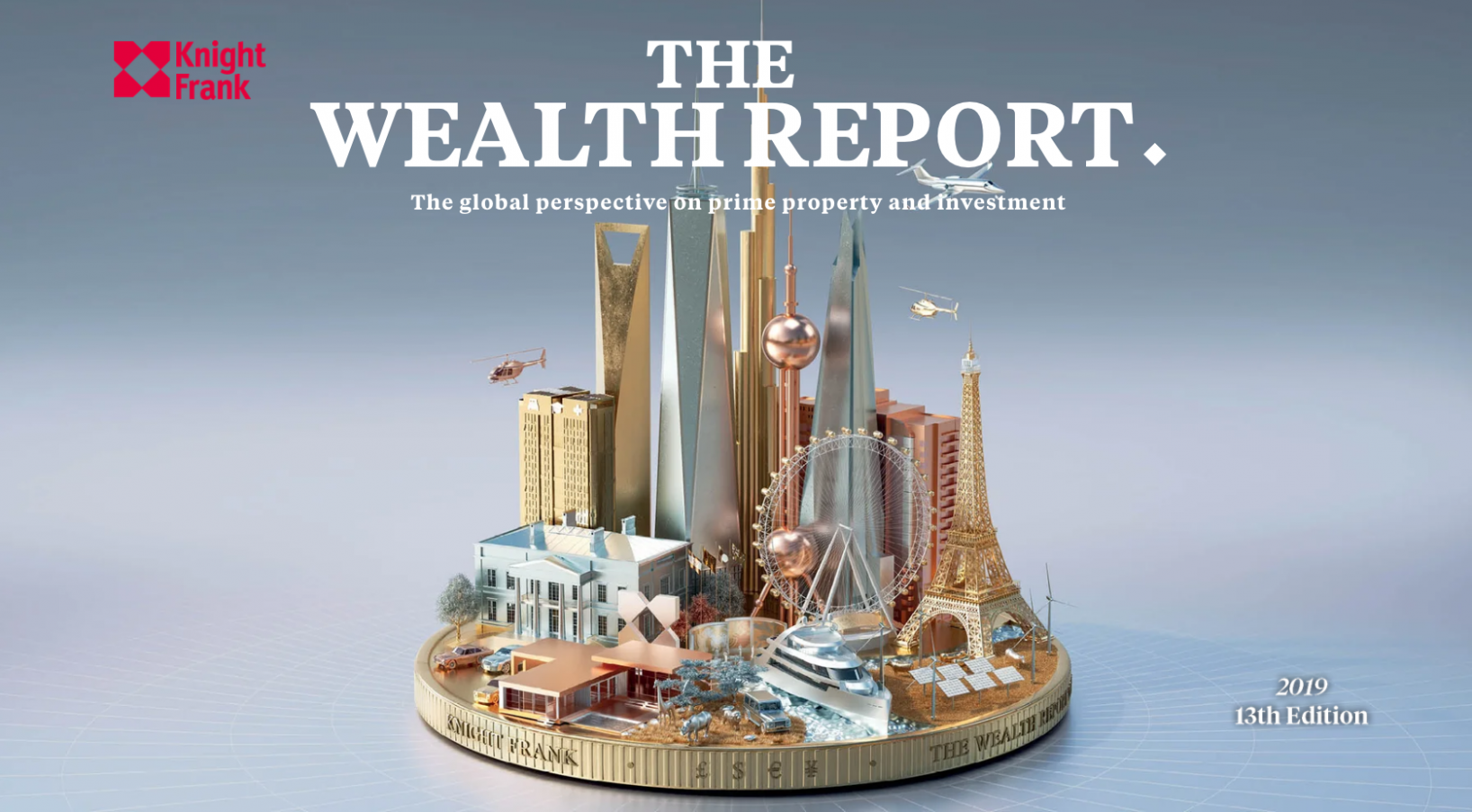 The Wealth Report 2019: Global wealth trends