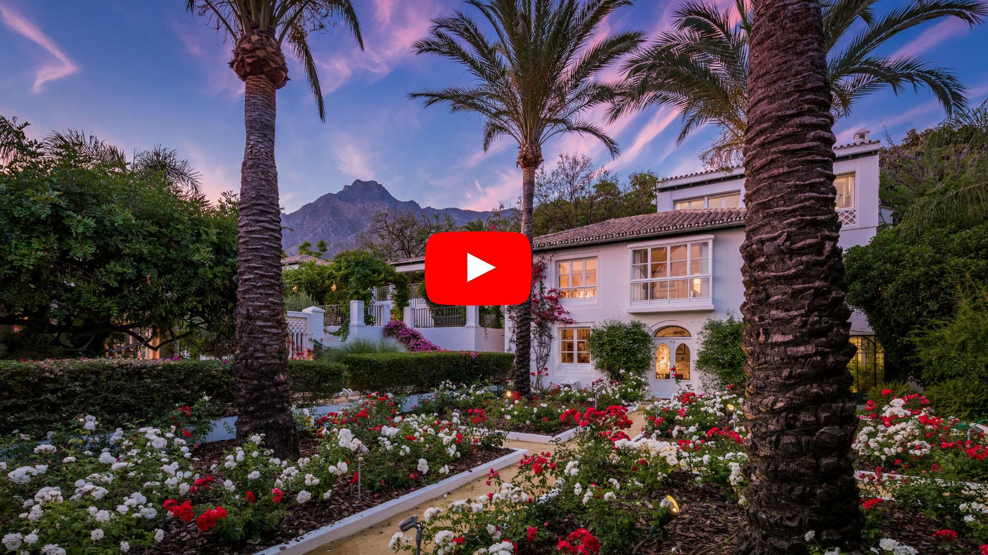 Nuevo video: Encantadora casa de estilo mediterráneo con vistas al mar en Sierra Blanca